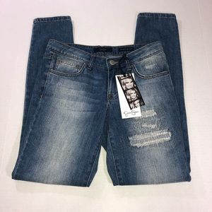 Jessica Simpson Weekend Relaxed Skinny Jeans Sz 25